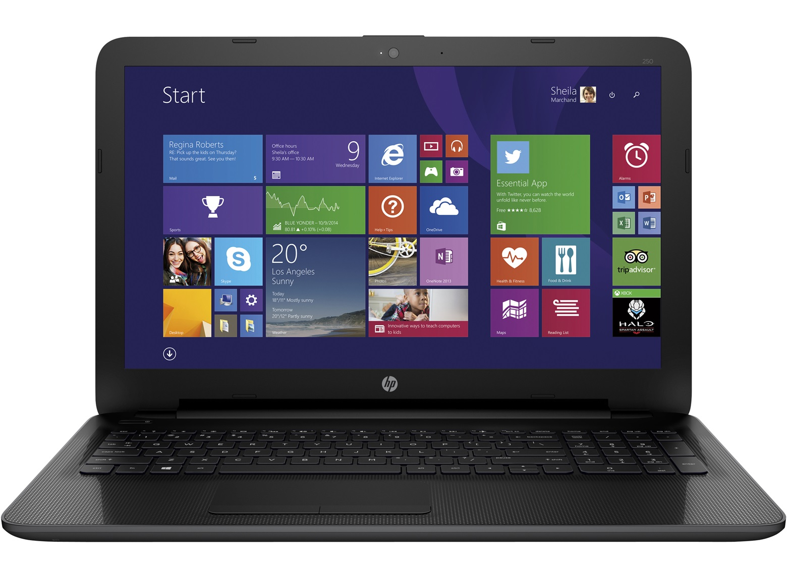 Notebook HP 250 G4 (AMD 5000)